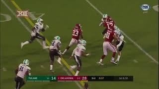Oklahoma vs Tulane Football Highlights