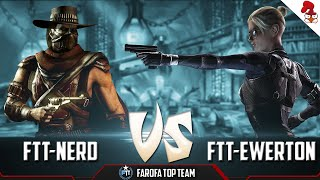 Mortal Kombat XL - Torneio FAROFA TOP TEAM - (FTT-NERD vs FTT-XxEwerton-_- [ROUND1][WINNERS]