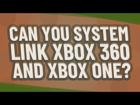 Can You System Link Xbox 360 And Xbox One?