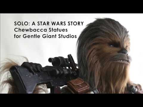 Lifesized Chewbaccas For Gentle Giant Studios Timelapse