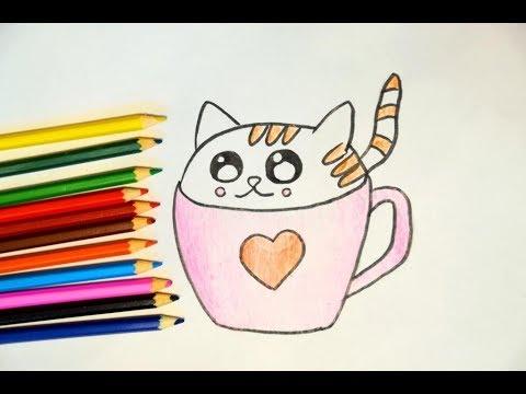 как рисовать котят картинки