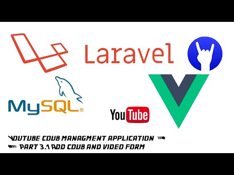 Regular coding: Development youtube coub application on Laravel, Vue part 3 add coub and video form thumbnail