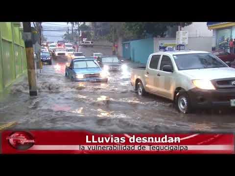LLuvias desnudan la vulnerabilidad de Tegucigalpa