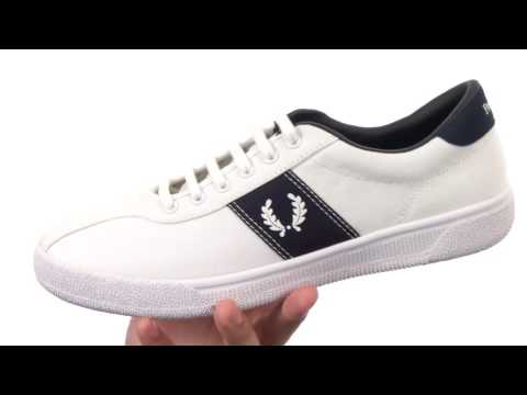 dc9f2d3715f Fred Perry Tennis Shoe 1 Canvas SKU 8770265