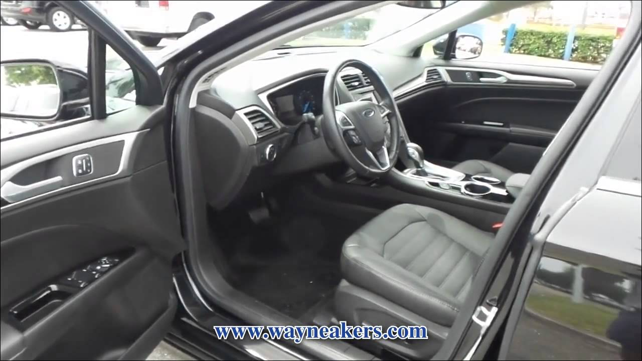 Wayne Akers Ford >> USED 2013 FORD FUSION SE for sale at Wayne Akers Ford ...