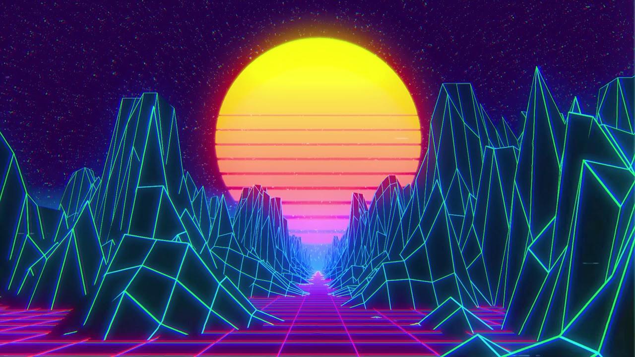 Synthwave Free Vj Loop 4k Youtube