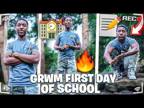 GRWM FIRST DAY OF SCHOOL | JUNIOR YEAR