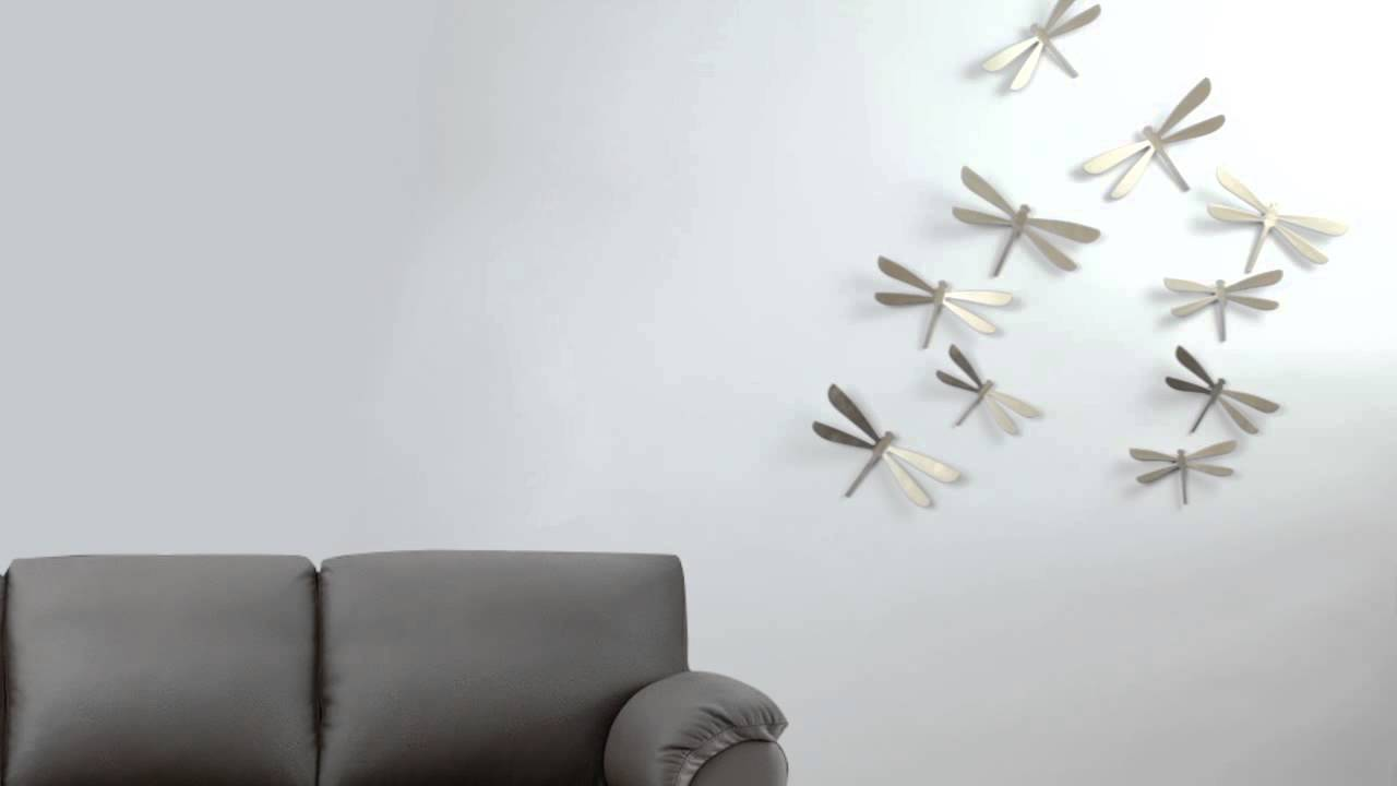 Dragonflies Wall Decor Wallflutter Youtube