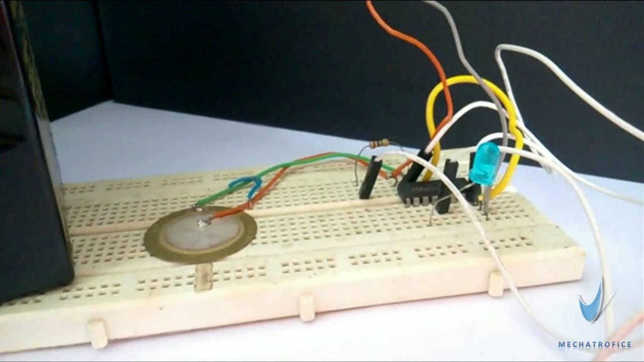 Piezoelectric Sensor Touch Switch Youtube Module Circuit
