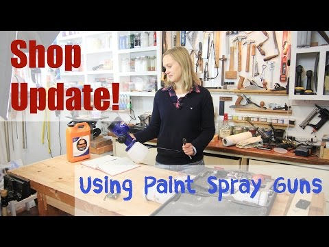 Shop Update - HVLP Sprayers and Latex Paint
