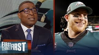Eagles GM plan to sign Carson Wentz to an extension - Cris & Nick react | NFL | FIRST THINGS FIRST