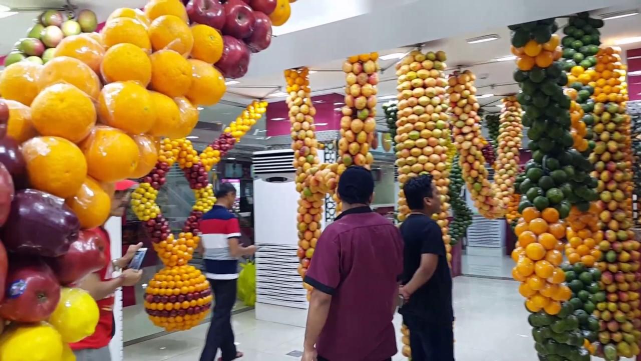 Fresh Fruits Decoration