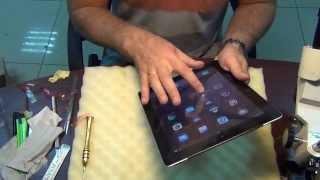 Ipad 3 замена тачскрина/ Touchscreen replacement ipad 3(В данном видео показана процедура замены сенсорного экрана на планшете Ipad 3., 2015-09-23T18:35:37.000Z)