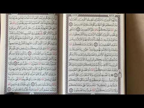 1️⃣9️⃣4️⃣ المصحف المعلم الربع 9️⃣ من سورة آل عمران.