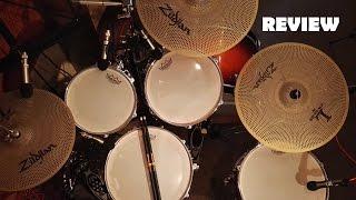 Silent Drums - Zildjian L80 Low Volume | Remo Silent Stroke | Promark Rebound Activegrip (Review)