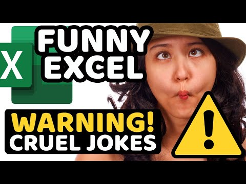 Excel Tutorial: Learn Excel - [Absolute Beginners] - Funny Version