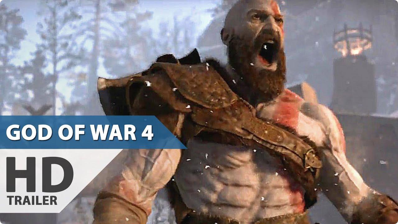 God of war 4 trailer video