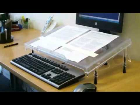 MicroDesk™ Writing Platform & Document Holder
