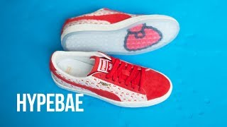 Hello Kitty x PUMA Suede Sneaker Unboxing