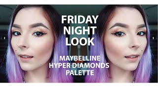 FRIDAY NIGHT LOOK | MNYAU HYPER DIAMONDS PALETTE Thumbnail