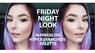 FRIDAY NIGHT LOOK | MNYAU HYPER DIAMONDS PALETTE Thumbnail