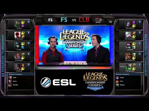 CompLexity Black vs Final Five Game 2 | NA LCS Expansion Tournament Spring 2015 | CLB vs F5 G2 60FPS