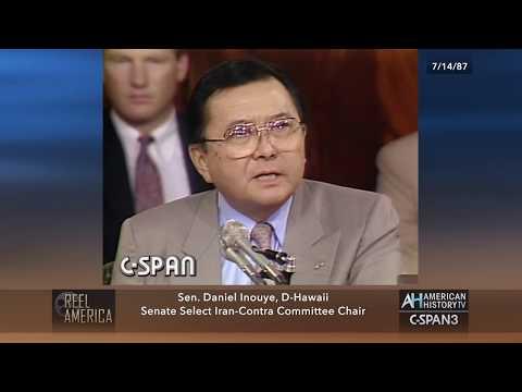 30th Anniversary: 1987 Iran-Contra Hearings - Sen. Daniel Inouye on Col. North