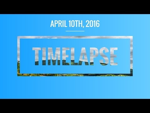 Full HD Timelapse - 50 minutes in 23 seconds - Pakrac, Croatia