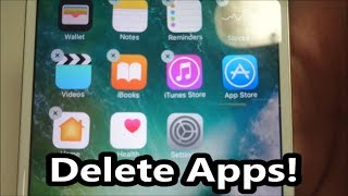 Have you ever wanted to know how to delete apps on your iPad, iPhone or iPod Touch that you have org.