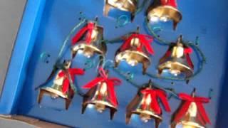 Mr Christmas lighted musical bells 1991 holiday innovation