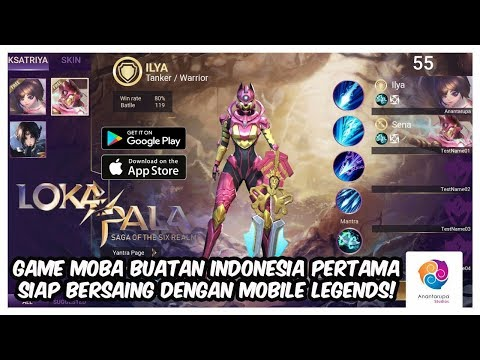 Game MOBA Buatan Indonesia Akan Bersaing dengan Mobile Legends - Lokapala Saga of The Six Realms - 동영상