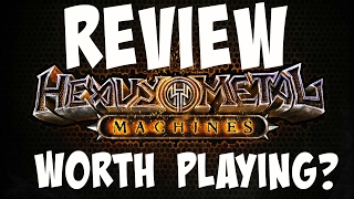 Heavy Metal Machines (2017) Review - Is It Worth Playing?