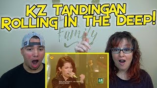 "MOM & SON REACTION! KZ Tandingan Rolling in the Deep  ""Singer 2018"" Episode 5"