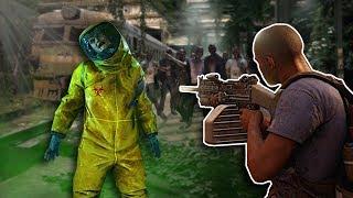 MASSIVE ZOMBIE HORDE ATTACKS TRAIN! - World War Z Gameplay - New York Zombie Survival