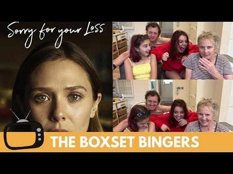 Sorry For Your Loss (Elizabeth Olsen Web Series) Trailer - Nadia Sawalha & Family Reaction & Review