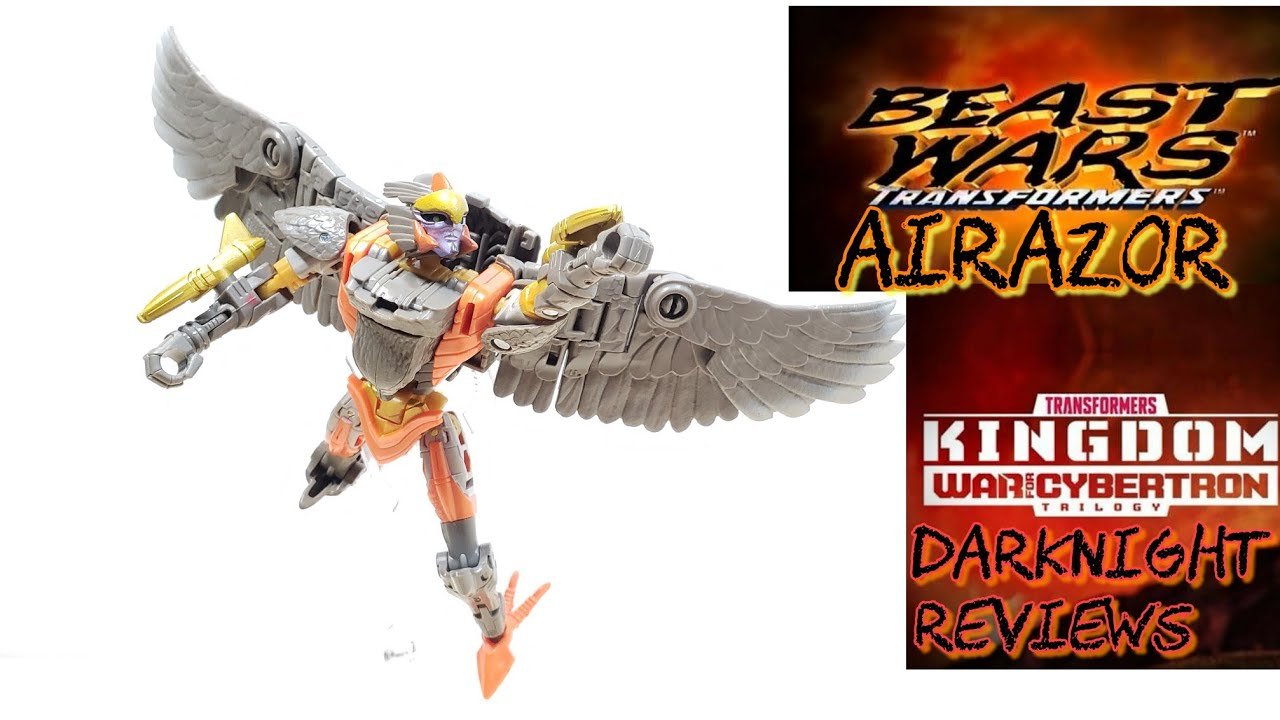 Best Kingdom Deluxe Figure yet: Airazor by DarkNight Reviews