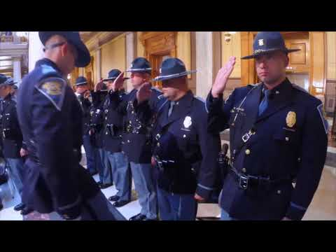 Indiana State Police - 10.19.2017 - The 77th Class Graduation