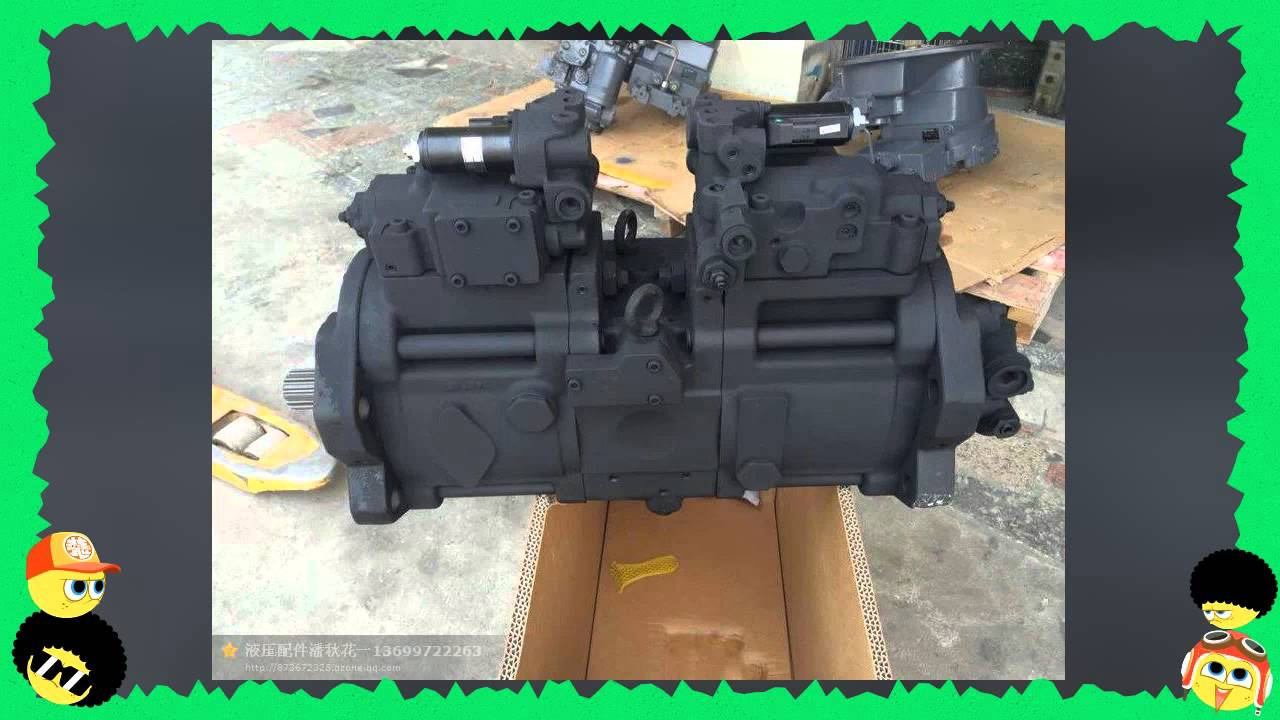 Hydraulic Pump For Excavators Komatsu Hitachi Kobelco Volvo Youtube Wiring Schematic Pc 6