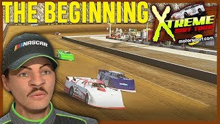 OUR NASCAR HEAT 3 DIRT DEBUT! | NASCAR Heat 3 Career Mode Episode 1