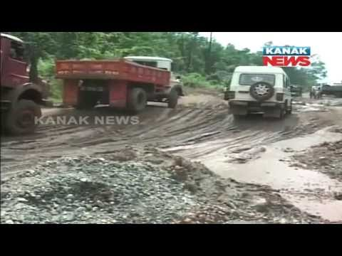 Poor Condition Of NH 215