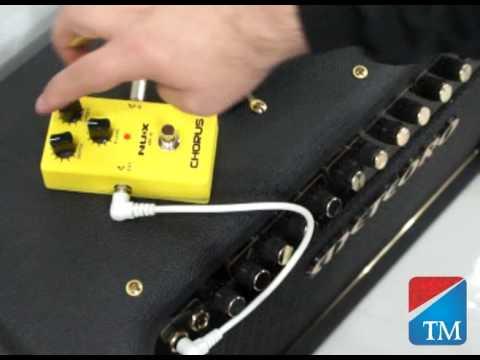 Pedal Nux Chorus CH3 - Território da Música