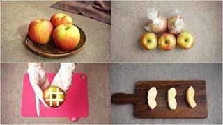 사과 보관법과 갈변방지,세척법과 자르기까지!(Apple browning ,リンゴ)-데라세르나
