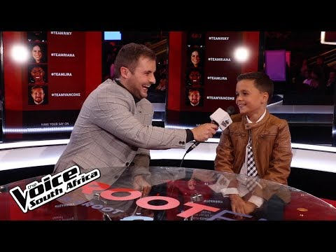 A Ten-year-old's Dream | Live Shows | The Voice SA | M-Net
