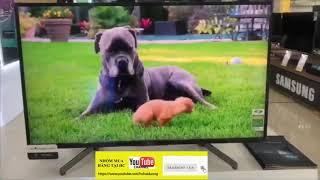 Review Tivi Sony Bravia KD-43X8000G chạy hệ điều hành Android
