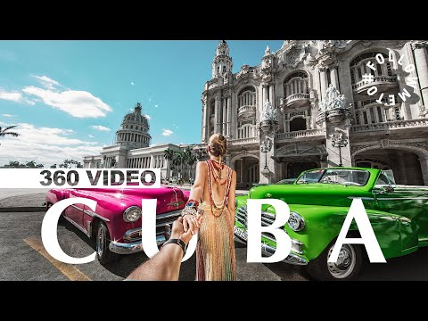 First 360 VIDEO! #FollowMeTo Cuba Behind The Scenes