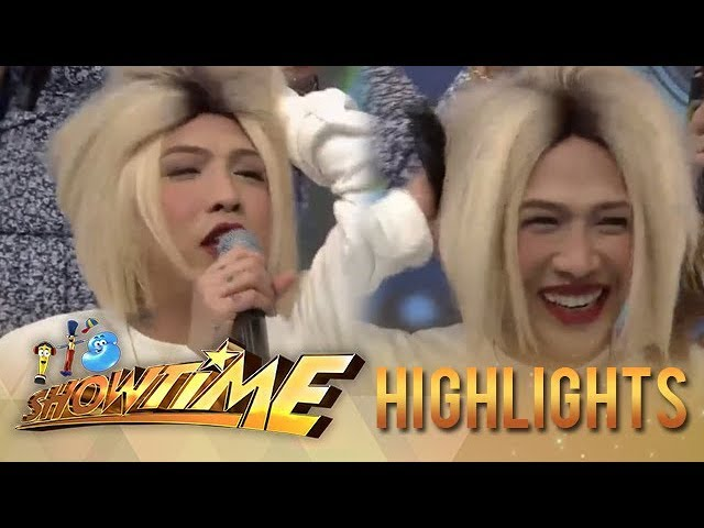 It's Showtime: Vice Ganda removes his hair