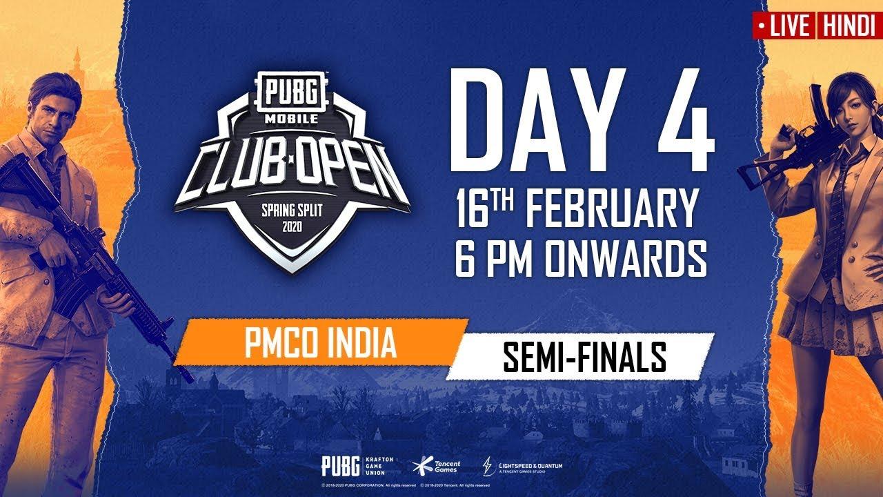 Download [Hindi] PMCO India Semi Finals Day 4 | Spring Split A & B | PUBG MOBILE CLUB OPEN 2020