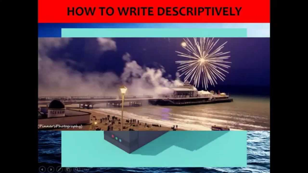 examples of descriptive writing gcse