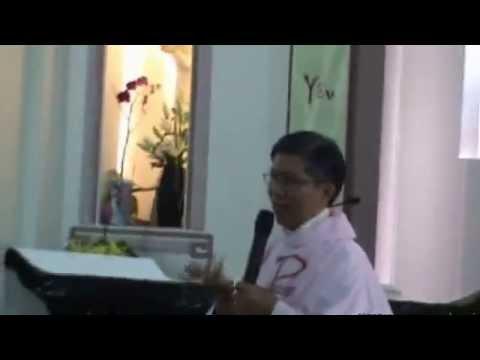 Bai giang Le cuoi Anh Tien Huan   chi Anna Thien Thu 3 9 2011   Lm  Phanxico Xavie