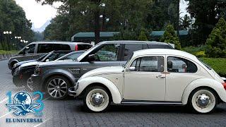 Llegan a Los Pinos autos de súper lujo a subasta